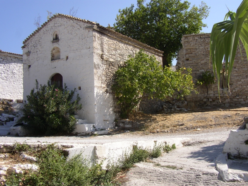The old church of Agiades