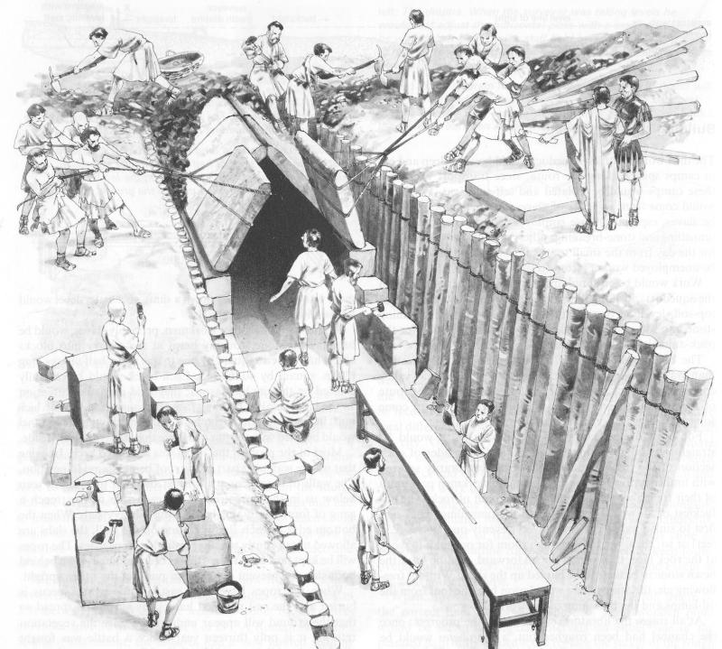 aqua clopedia, a picture dictionary of roman aqueducts: construction